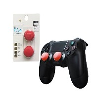 Skull & Co. PS4 FPSフリーク Thumb Grip Joystick Cap CQC Elite Thumbstick Cover for PS4 Controller ( Red...