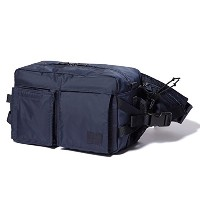 (ヘッド・ポーター) HEADPORTER MASTER NAVY NEW WAIST BAG NAVY