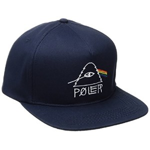 POLER CAMPING STUFF(ポーラー)PSYCHEDELIC SNAPBACK NVY CAP