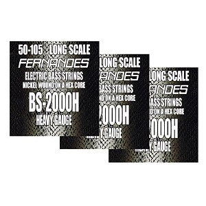 FERNANDES BS-2000H LONG SCALE 050-105×3set