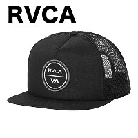 RVCA Taft Trucker Hat Cap Black キャップ 並行輸入品