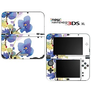 new3DSLL 【スキンシール】 New ニンテンドー 3DS LL /BF25/Watercolors