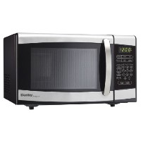 【並行輸入】Danby ダンビー Designer Countertop Microwave, Black/Stainless Steel 電子レンジ