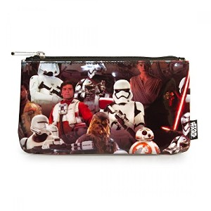 Loungefly x Star Wars: The Force Awakens Multi Character Coin/Cosmetic Bag