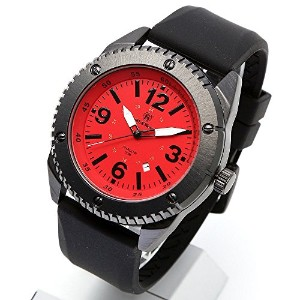 [Smith & Wesson]スミス&ウェッソン ミリタリー腕時計 KNIVES WATCH RED/BLACK SWW-693-RD [正規品]