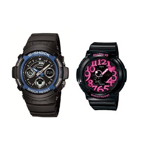 CASIO G-SHOCK/BABY-G ペアウォッチ AW-591-2AJF BGA-130-1BJF