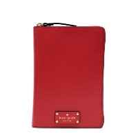 (ケイトスペード) KATE SPADE WELLESLEY ZIP AROUND PERSONAL ORGANIZER 手帳 WLRU1321 CHERRY LIQR 648 [並行輸入品]