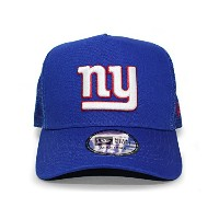 (ニューエラ) NEW ERA NEW YORK GIANTS 【D-FRAME TRUCKER MESH/RYL BLUE】 ニューヨーク ジャイアンツ