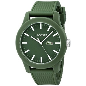[ラコステ]Lacoste 腕時計 Lacoste.12.12 Green Resin Watch with Silicone Band 2010763 メンズ [並行輸入品]