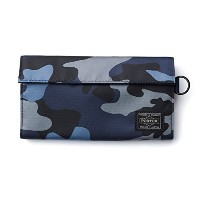 (ヘッド・ポーター) HEADPORTER JUNGLE WALLET (L) DARK NAVY