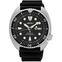 セイコー Seiko SRP777 Automatic Diver Black Rubber Strap 45mm Watch [並行輸入品]