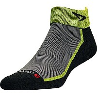 DRYMAX(ドライマックス) Trail Running 1/4 Crew Turndown L Lime×Black