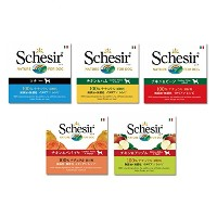Schesir(シシア) ドッグフード 缶詰 5個アソートセット
