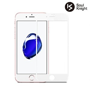 【 iPhone6 Plus / iPhone6s Plus 専用 】Soul Knight iPhone6s ガラスフィルム 全面 液晶保護フィルム 【 3D Touch対応 / 硬度9H /...