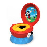 The First Years 3-In-1 Potty System ディズニー ミッキー イス型おまる【並行輸入】