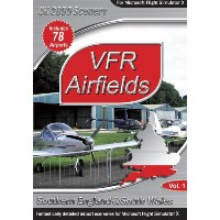 VFR Airfields vol 1 (PC) (輸入版)