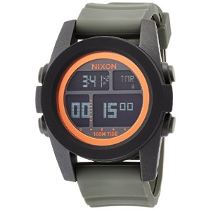 [ニクソン]NIXON UNIT TIDE: BLACK/SURPLUS/ORANGE NA2822050-00 メンズ 【正規輸入品】