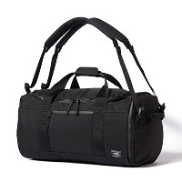 (ヘッド・ポーター) HEADPORTER YUKON 3WAY BOSTON BAG BLACK