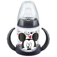 NUK Disney First Choice Biberon d'apprentissage 150 ml - Noir