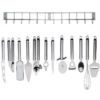 Kabalo Complete Cooking Set: 12pc Stainless Steel Kitchen Utensil / Kitchen Gadget Tool Set with...