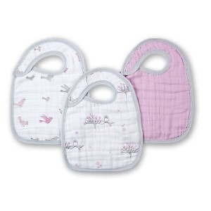 スナップビブ [Muslin snap bibs - for the birds] 3枚入り 7104 [Baby Product]