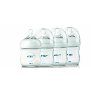 Philips AVENT BPA Free Natural Polypropylene Bottles 120ml 4本セット