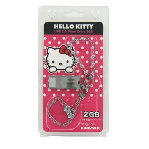ハローキティ USBメモリー2GB Kingmax-kittyUSB2GBtypeE-pk