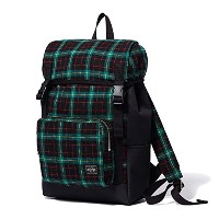 (ヘッド・ポーター) HEADPORTER LESSON RUCKSACK GREEN