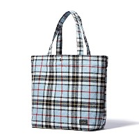 (ヘッド・ポーター) HEADPORTER LESSON SHOPPING BAG (L) BLUE