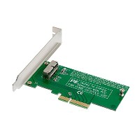 Apple MacBook Air Pro A1466 A1465 A1398 A1502 ME253 MD878 SSD → PCIe PCI Express x4 変換アダプター