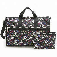LeSportsac レスポートサック ボストンバッグ 7185 Large Weekender D839 SCHOOL'S OUT [並行輸入商品]