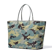 (ヘッド・ポーター) HEADPORTER JUNGLE TOTE BAG (L) OLIVE