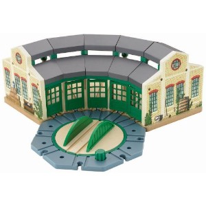 Fisher-Price Thomas the Train Wooden Railway Tidmouth Sheds [並行輸入品]