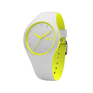 (アイスウォッチ)ice watch Ice Duo Unisex M(unisex) Gray yellow(グレーイエロー)