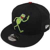 New Era Kermit Black Red Snapback Cap 9fifty Limited Edition 950 Muppets