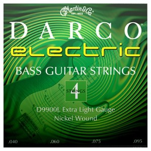 Martin Darco Nickel Wound 4 String Bass Guitar Strings (40-95)