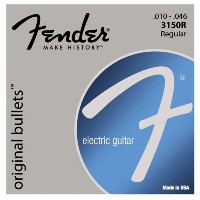 Fender Electric Guitar Pure Nickel Bullet End, .010 - .046[エレキギター弦]