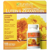 trunature Vision Complex ルテイン と ゼアキサンチン Lutein & Zeaxanthin, 140粒