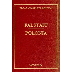 Edward Elgar: Falstaff/Polonia Score Complete Edition Vol 33 (Cloth). Partitions pour Orchestre
