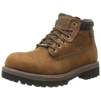 [スケッチャーズ] SKECHERS Sergeants-Verdict 4442 CDB(Dark Brown Waterproof Crazyhorse Leather/25.5)