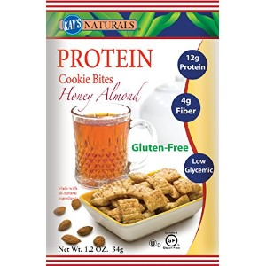 Kay's Naturals Protein Cookie Bites, Honey Almond Filled, 1.2 ounces (Pack of 6) by Kay's Naturals ...