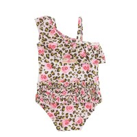 Ruffle Butts【ラッフルバッツ】Wild Child One-Shoulder One Piece 水着(18カ月~24カ月) [RB0404-18-24m]