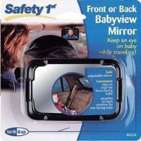 Safety 1st Front or Back Babyview Mirror by Safety 1st