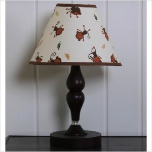 GEENNY Lamp Shade, Amazon Jungle Animals by GEENNY