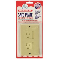Mommys Helper Safe Plate Electrical Outlet Covers Decora, Almond by Mommy's Helper
