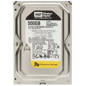 Supermicro hdd-t0500-wd5003abyx 500 GB内蔵ハードドライブ。500 GB WD re4 SATA II 7200 rpm 64 MB 3.5 in Satahd...