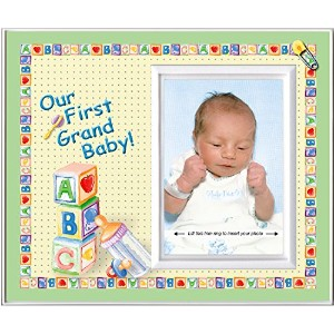 Our First Grandbaby! - Picture Frame Gift by Expressly Yours! Photo Expressions