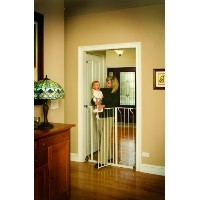 Regalo Easy Step Extra Tall Walk Thru Gate, White by Regalo [並行輸入品]