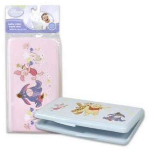 Disney Winnie The Pooh Characters Travel Baby Wipes Case by Disney
