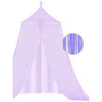 Lilac String Bed Canopy by Bacati